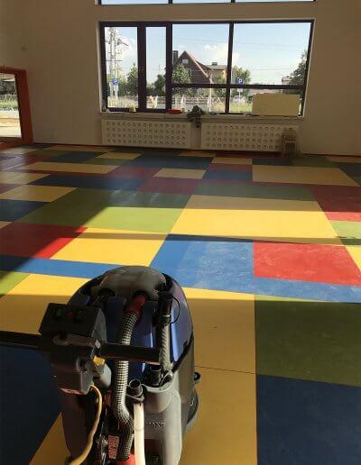 widok z przedszkola